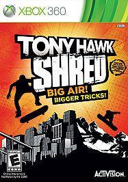 tony hawk shred in Video Games