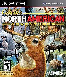 Cabelas North American Adventures Sony Playstation 3, 2010