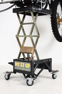 MX EZ UP Lift Stand Dirt Bike Dirtbike Scissor Lift Beta Gas Gas