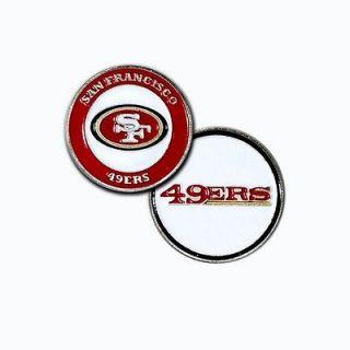 Licensed Official San Francisco 49ers Golf Ball Marker + Free Bonus