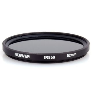 52 mm IR 850nm Optical Glass Infrared Infra Red Filter for Nikon Canon