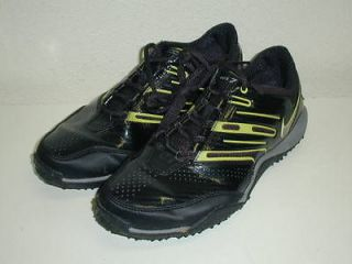 nike zoom sparq training shoes womens 8 black lime nice