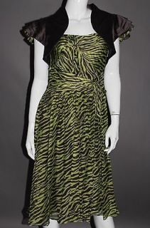 Usher Silk Mother of Bride Dress Suit Special Occasion Outfit 12 Ascot