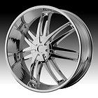 20 inch HELO chrome wheels rims 6x135 f 150 expedition navigator 6 lug