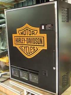 harley davidson coinco pop machine  375 00