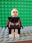 Lego Minifig Star Wars ~ Commander Fox ~ No Helmet ~ Clone Trooper