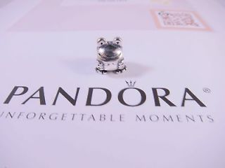 Authentic Pandora 925 Sterling Silver Froggie Charm Bead #790247 New