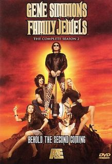 Gene Simmons Family Jewels   The Complete Season 2 DVD, 2009, 3 Disc