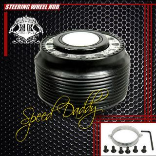 STEERING WHEEL 6 HOLE HUB ADAPTOR+QUICK RELEASE KIT MAZDA/MIATA/RX​7