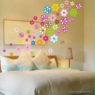 Newly listed Flowers Mural Art Deco Wall Sticker Paper Decal LH911