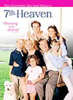 7th Heaven   The Complete Second Season DVD, 2005, 6 Disc Set