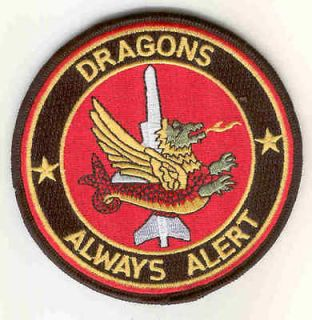 indian air force iaf patch dragons 6th squadron from canada