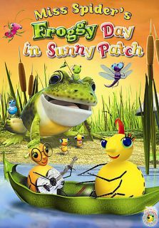 Miss Spiders Froggy Day in Sunny Patch DVD, 2007