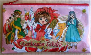 Sakura School Pencil Case Bag Pouch CLAMP Double Side DISCONTINUED