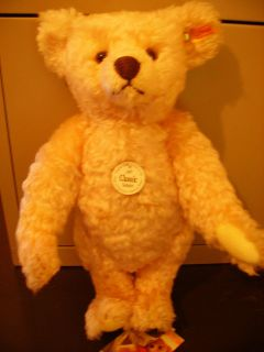 STEIFF Classic 1907 Replica Rose Teddy Bear New Free Steiff Gift Box