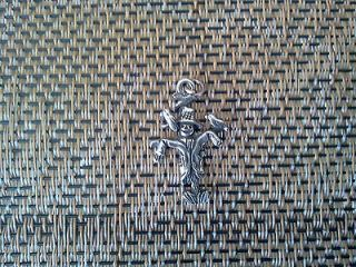 GARDEN FASHION JEWELRY 1 SCARECROW PEWTER 3D PENDANT or CHARM All New.