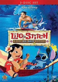 Lilo Stitch DVD, 2009, 2 Disc Set Big Wave Edition