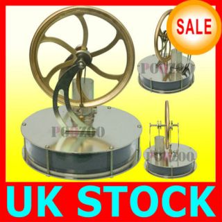 UK STOCK! NEW LOW TEMPERATURE STIRLING ENGINE EDUCATIONAL TOY KIT