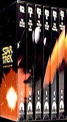 Star Trek  The Movie Collection (VHS, 1993, 6 Tape Set) Sealed Never