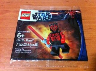 LEGO   5000062 Star Wars Darth Maul Shirtless Polybag with Minifigure