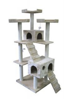 New Leopard skin 57 Cat Tree Condo Furniture Scratch Post Pet House