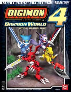Digimon World 4 Official Strategy Guide by Adam Deats and Brady Games