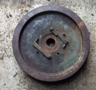 vintage p55 stuart turner marine engine flywheel from canada time
