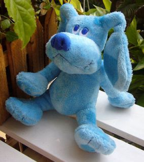 NEW ARRIVAL Jan ~~Blue Clues~ BLUE the Pubby Ty Plush TOY DOLL 6 RARE