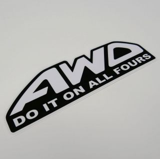 It On All Fours Sticker Decal JDM Illest Haters Turbo Subaru WRX STI