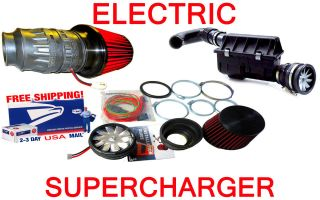 Cadillac Electric Performance Turbo Air Intake Supercharger Fan Kit