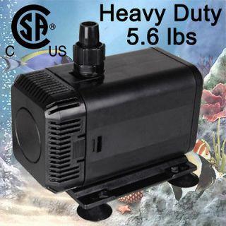 740 GPH Submersible Water Pump Powerhead Pond Aquarium Fountain Reef
