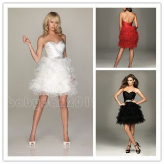 2012 New Sexy Evening Cocktail Dress Fashion Mini length ostrich