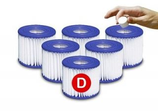 Newly listed 6 SIZE TYPE D Summer Escapes Pool FILTER Cartridge RP400