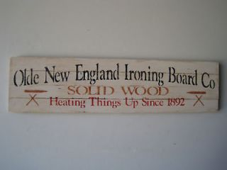 rustic country cottage wood sign ironing board co time left