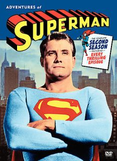 The Adventures of Superman The Complete Second Season DVD, 2006, 5