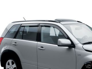 2006 2013 SUZUKI GRAND VITARA SIDE WINDOW DEFLECTORS GENUINE OEM 990B0
