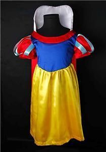 lovely girls snow white princess dress costume sz 2t 3t