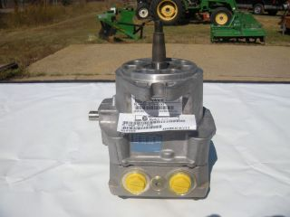 john deere tca12525 hydraulic pump 737 757 hydro time left