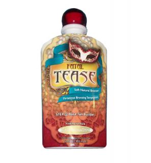 California Tan Fatal Tease Step 1 Base Tan Builder Tanning lotion
