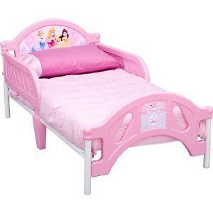 Disney Princess Pretty Pink Toddler Bed Bedroom Sleep Girls Play Nap