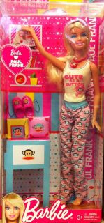 mattel barbie loves paul frank doll from hong kong time