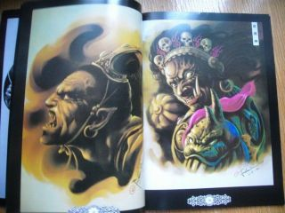 China Traditional Tattoo Flash Book Art Magazin From China ZGY SKETCH