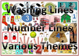 number line eyfs ks1 special needs 1 10 1 20 themes tennis football