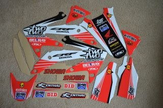 CHAD REED #22 TEAM HONDA GRAPHICS 2004 05 06 07 08 09 CRF250R
