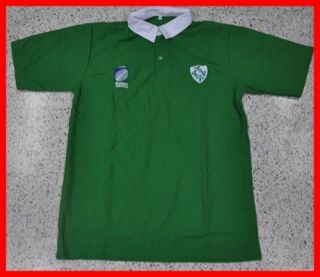 Retro Vintage Ireland Irish National rugby union team Top Polo Shirts