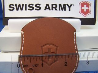 swiss army watch pouch pocket watch pouch leather brown time
