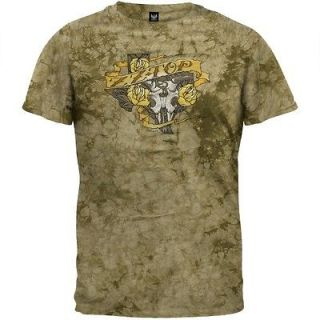 ZZ Top   Texas Trio Tie Dye T Shirt