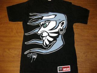 JEFF HARDY small T shirt pro wrestling WWE Team Xtreme hardcore OG art