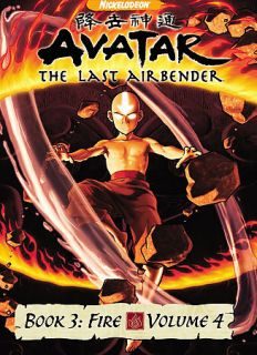 Avatar The Last Airbender   Book 3 Fire Volume 4 DVD, 2008