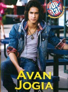 AVAN JOGIA   VICTORIOUS   11 x 8 MAGAZINE PINUP   POSTER   TEEN BOY